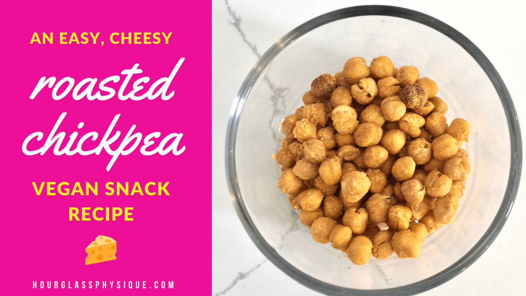 Cheesy roasted chickpeas