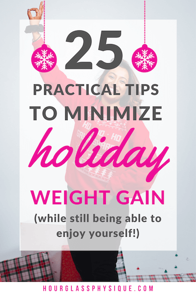 Minimize holiday weight gain