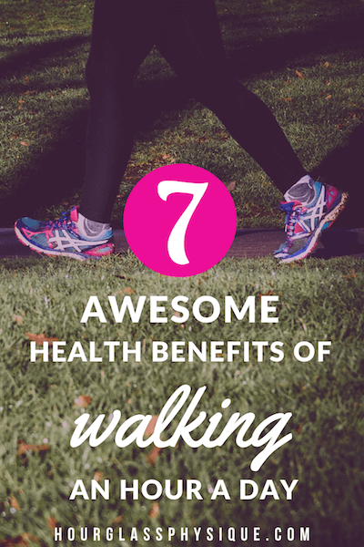 walking an hour a day